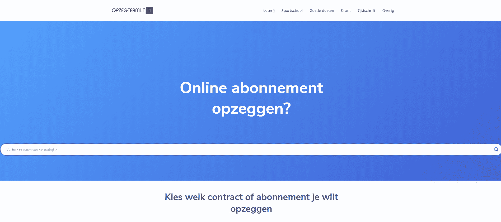 Opzegtermijn.nl